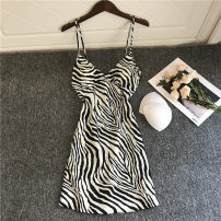 Nightdress Esmore M,L,XL sexy camisole Short skirt Cartoon animation V-neck Polyester (polyester)