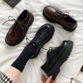 Low top shoes 35 36 37 38 39 40 Shuxi Versatile black list (Collection Plus gift) ❤ First delivery) in the list (Collection Plus gifts) ❤ First delivery) Black Warm Fleece (Collection Plus gift) ❤ First delivery) brown warm fleece (Collection Plus gift) ❤ Delivery first) Round head PU Flat bottom