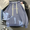 Sweater / sweater Autumn of 2019 M L XL XXL Long sleeves routine Socket singleton  Plush Hood easy commute routine letter 18-24 years old 96% and above Several seedlings Korean version other 8571# cotton Intradermal bile duct Other 100% Pure e-commerce (online only)