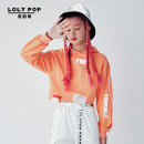 Sweater / sweater Autumn 2020 orange S M L Long sleeves have cash less than that is registered in the accounts Socket singleton  routine Hood Self cultivation street routine letter 18-24 years old 81% (inclusive) - 90% (inclusive) Loripa cotton Cotton 84% polyester 16% hippie