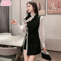 Fashion suit Autumn 2020 S M L XL XXL black 25-35 years old Jonana 96% and above Other 100% Pure e-commerce (online only)