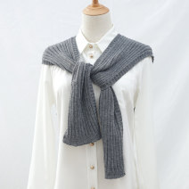 Scarf / silk scarf / Shawl other White, gray, black, blue, beige, leather powder Spring and autumn, summer, winter female Shawl multi-function Korean version other Youth, middle age, old age Shanghai Story