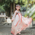 Tang costume 110cm 120cm 130cm 140cm 150cm female spring and autumn There are models in the real shooting routine Initial establishment polyester fiber Class B other Chinese Mainland Guangdong Province Spring of 2019 Guangzhou City