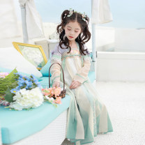 Tang costume Full bodied dress - May 10 - May 30 110cm 120cm 130cm 140cm 150cm Polyethylene terephthalate (PET) 98% polyurethane elastic fiber (spandex) 2% female spring and autumn There are models in the real shooting routine Initial establishment polyester fiber Class B other CQL126 Spring 2021