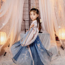 Hanfu other Four, five, six, seven, eight, nine, ten, eleven, twelve polyester fiber Chinese style female One lower skirt - one inner garment in stock - one outer garment in stock - one lower skirt in stock - one outer garment on May 30 - one inner garment on May 30 - May 30 CJL036