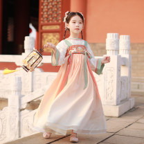 Tang costume 110cm 120cm 130cm 140cm 150cm Polyethylene terephthalate (PET) 98% polyurethane elastic fiber (spandex) 2% male spring and autumn There are models in the real shooting routine Initial establishment polyester fiber Class B other Chinese Mainland Guangdong Province Spring 2021