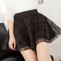 skirt Summer 2016 Average size Fluffy skirt lattice Type A other Other / other other Screen, printing