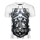 T-shirt Youth fashion White, black thin 170(M),175(L),180(XL),185(XXL),190(3XL) Piplan Short sleeve Crew neck Self cultivation Other leisure summer routine tide 2020 skull Hot drilling Creative interest No iron treatment