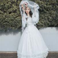 Hanfu 81% (inclusive) - 90% (inclusive) Trumpet sleeve jacket and skirt will be delivered within 30 days, sling with jacket and skirt will be purchased, veil with jacket and skirt will be purchased, and straight sleeve jacket and skirt will be delivered within 7 days polyester fiber