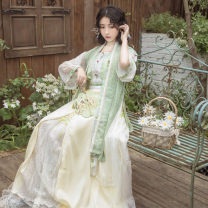 Hanfu 81% (inclusive) - 90% (inclusive) Xs, s, m, l, XL, customized duration increased by 20 days polyester fiber