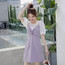 T-shirt Taro purple S,M,L Summer 2020 commute other 31% (inclusive) - 50% (inclusive)