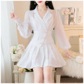 Fashion suit Spring 2021 S,M,L Black three piece set, white three piece set 25-35 years old Other / other 81% (inclusive) - 90% (inclusive)