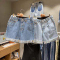 Jeans Youth fashion Others S(28-29),M(30-31),L(32-33) Light blue, blue Shorts (up to knee) Other leisure