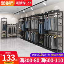 Clothing display rack clothing manmade board T-17 Muku (office furniture) Official standard