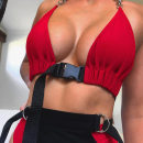 Bras Average size U-shaped Strapless No buckle Wireless  Full cup Other / other Young women motion