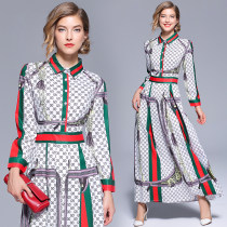 Dress Autumn of 2018 Picture color M L XL 2XL singleton  Long sleeves Polo collar 25-29 years old Other / other