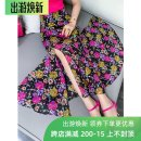 skirt Summer 2020 S. M, l, XL, 2XL, 3XL, small, long the dazzling human world with its myriad temptations Mid length dress street High waist Decor SK70503 CHICMENGMENG Europe and America