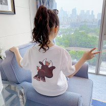 T-shirt summer Korean version There are models in the real shot nothing Cotton 97.3% polyurethane elastic fiber (spandex) 2.7% CNBB99-78 Class B Shun Yi Bei Er 3 years old, 4 years old, 5 years old, 6 years old, 7 years old, 8 years old, 9 years old, 10 years old, 11 years old, 12 years old cotton