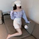 Hat other Blue shirt + white skirt white shirt + black skirt S M L XL female Zhudi beauty Autumn 2020