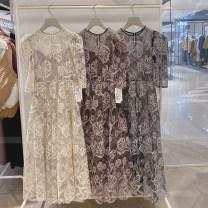 Dress Winter 2020 Black, ivory, brown 0, 1