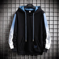 Sweater Fashion City LPW M L XL XXL XXXL Geometric pattern Socket routine Hood autumn easy leisure time teenagers like a breath of fresh air routine Polyester 100% Arrest line Hanging dyeing Autumn 2020 Hidden thread patch bag Pure e-commerce (online only) Chinese style  zipper