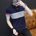 shirt Youth fashion Hancatu Thin money Pointed collar (regular) Short sleeve Self cultivation daily summer youth Cotton 95% polyurethane elastic fiber (spandex) 5% Youthful vigor 2019 Solid color Summer of 2019 washing Pure e-commerce (online only)