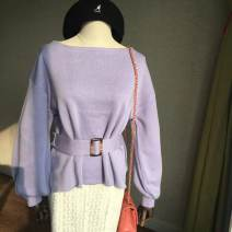 Wool knitwear Autumn 2020 Average size Blue purple (cash payment), khaki (cash payment), off white (cash payment), green (cash payment), black (cash payment) other 30% and below