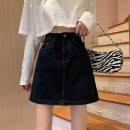 skirt Spring 2021 S M L XL 2XL 3XL 4XL 5XL Dark blue 8867 white 9901 black 9901 purple 9901 pink 9901 Short skirt Versatile High waist A-line skirt Solid color Type A 18-24 years old 71% (inclusive) - 80% (inclusive) Dream Piano cotton Cotton 80% other 20%