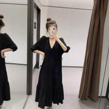 Dress Autumn 2020 black XS,S,M,L other UR HM ZARA 71% (inclusive) - 80% (inclusive) other