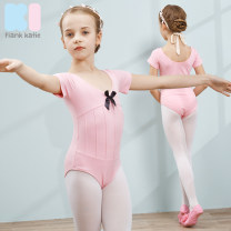 Children's performance clothes female Fiank Katie Class B practice Cotton 93% polyurethane elastic fiber (spandex) 7% other 2 years old, 3 years old, 4 years old, 5 years old, 6 years old, 7 years old, 8 years old, 9 years old, 10 years old, 12 years old, 13 years old, 14 years old Summer of 2018