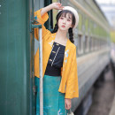 jacket Spring of 2019 S M L XL Qingshuixi, early Han Dynasty 18-25 years old Cotton 100%