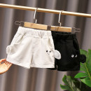 trousers Other / other neutral 80cm,90cm,100cm,110cm,120cm White, black summer shorts Korean version No model Casual pants Leather belt middle-waisted cotton Don't open the crotch Other 100% Class B KK 12 months, 6 months, 9 months, 18 months, 2 years old, 3 years old, 4 years old, 5 years old