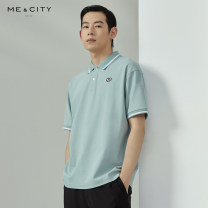 Polo shirt Me&City Fashion City routine 180/100A 165/88A 170/92A 175/96A 185/104B standard Other leisure summer Short sleeve Youthful vigor routine youth Cotton 100% Animal design other Summer 2021 Same model in shopping mall (sold online and offline)