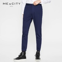 Casual pants Me&City Fashion City 165/72A 170/74A 170/76A 170/78A 175/80A 175/82A 175/84A 180/86A trousers Other leisure Self cultivation Cotton 100% Spring of 2018 Same model in shopping mall (sold online and offline)