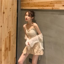 Fashion suit Summer of 2019 Average size 18-25 years old Qingqing leisurely Other 100.00% Pure e-commerce (online only)