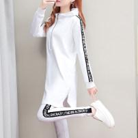 Fashion suit Autumn of 2019 M L XL XXL XXXL 4XL White black watermelon red 25-35 years old Salomallie / salomalli DC-931 Polyethylene terephthalate (PET) 93% polyurethane elastic fiber (spandex) 7% Pure e-commerce (online only)
