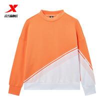 Sportswear / Pullover XTEP / Tebu female Socket Crew neck Spring 2021 Brand logo yes