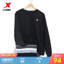 Sportswear / Pullover 2XL 3XL s (adult) m (adult) l (adult) XL (adult) XTEP / Tebu male 880329920220-412648 Socket Crew neck Spring 2021 Brand logo Cotton polyester Sports & Leisure ventilation
