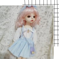 BJD doll zone suit 1/6 Over 3 years old Customized White, pink, sky blue Eight, six, little bukor, four