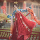 National costume / stage costume Autumn of 2019 One size fits all, 155160165170, customized (please consult online customer service before shooting) Hu Yunyao Like a dream
