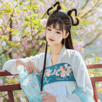 Hanfu 96% and above Autumn of 2019 Average size polyester fiber