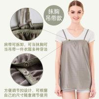 Radiation proof belly bag / tire protector Duoduokang All silver fiber apron L,XL Four seasons Silver fiber