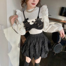 Fashion suit Winter 2020 XS,S,M,L White shirt, black vest, black skirt 25-35 years old bequeenstory B20402661