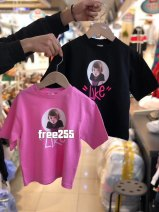 T-shirt Pink [purchasing 5-9], black [purchasing 5-9], yellow [purchasing 5-9], white [purchasing 5-9], pink spot, white spot, black spot Other / other neutral Long sleeves