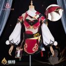 Cosplay women's wear suit Pre sale Over 8 years old C service 418 yuan , Yanfei wig , Yanfei shoes (take note of shoe size) game Manggu cos Chinese Mainland Original God Manggu cos S