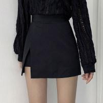 skirt Summer 2021 XS S M L Black apricot white light pink dark blue Short skirt commute High waist Irregular A4553 More than 95% John Ratzenberger  other Other 100% Pure e-commerce (online only)