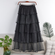 skirt Spring 2021 Average size White black dot, white white dot, black white dot, black black dot longuette Versatile High waist Cake skirt Dot Type A 18-24 years old 71% (inclusive) - 80% (inclusive) other polyester fiber Splicing 161g / m ^ 2 (including) - 180g / m ^ 2 (including)
