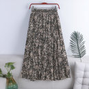 skirt Spring 2021 Average size Apricot zebra print, khaki zebra print, Black Zebra Print Mid length dress Versatile High waist Pleated skirt Broken flowers Type A 18-24 years old 71% (inclusive) - 80% (inclusive) Chiffon polyester fiber printing 181g / m ^ 2 (including) - 200g / m ^ 2 (including)