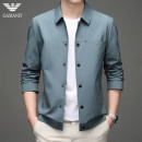 Jacket Chiamania Fashion City White Red Navy light blue 170 175 180 185 190 195 routine standard Other leisure spring QZL-2126 Polyester 100% Long sleeves Wear out Lapel Business Casual youth routine Single breasted No iron treatment Closing sleeve Solid color Spring 2021 Button decoration