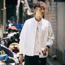 shirt Youth fashion Others M,L,XL,2XL Yellow, pink, milky white, emerald green routine Windsor collar Long sleeves easy Other leisure autumn teenagers Cotton 100% Japanese Retro Solid color No iron treatment cotton More than 95%